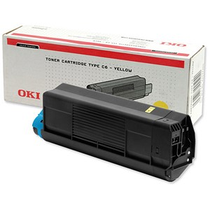 Image of Oki C5300 Yellow Laser Toner Cartridge