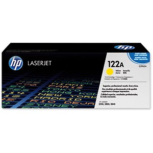 Image of HP 122A Yellow Laser Toner Cartridge