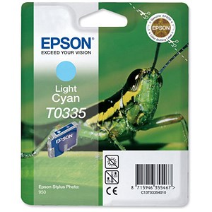 Image of Epson T0335 Light Cyan Inkjet Cartridge