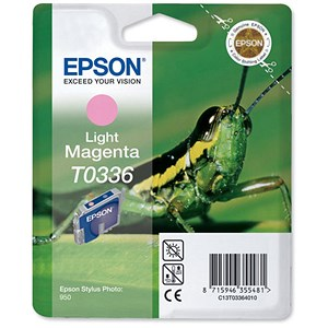 Image of Epson T0336 Light Magenta Inkjet Cartridge