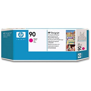 Image of HP 90 Magenta Printhead and Printhead Cleaner