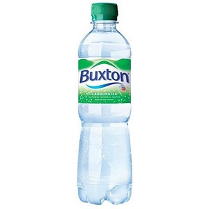 Image of Buxton Natural Sparkling Mineral Water - 24 x 500ml Plastic Bottles