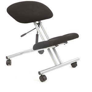 Image of Trexus Kneeling Chair - Charcoal