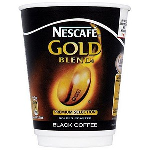 Image of Nescafe & Go Gold Blend Black Coffee - Sleeve of 8 Cups