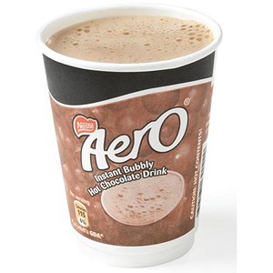 Image of Nescafe & Go Aero Hot Chocolate - Sleeve of 8 Cups