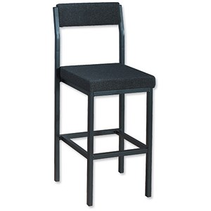Image of Trexus High Stool - Charcoal