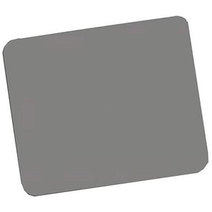 Image of Fellowes Economy Mousepad / Rubber Sponge backing / Non-slip Base / Silver