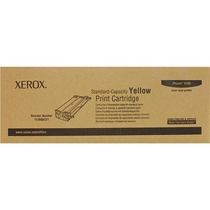 Image of Xerox Phaser 6180 Yellow Laser Toner Cartridge