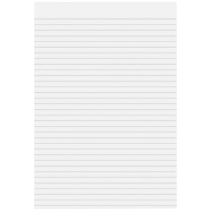 Image of Cambridge Memo Pad / A4 / Ruled / 80 Sheets / Pack of 5