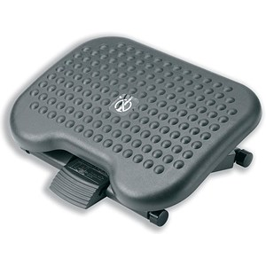 Image of Footrest Tilting Adjustable H95-170mm - Charcoal