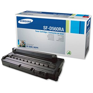 Image of Samsung SF-D560RA Black Fax Toner Cartridge and Drum Unit