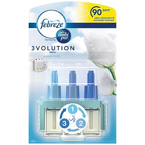 Image of Ambi Pur 3volution Refill for Fragrance Unit - Cotton Fresh