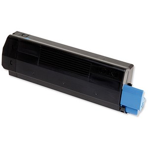 Image of Oki C5450 Cyan Laser Toner Cartridge