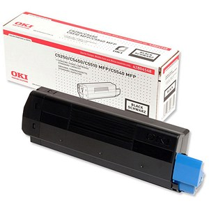Image of Oki C5450 Black Laser Toner Cartridge