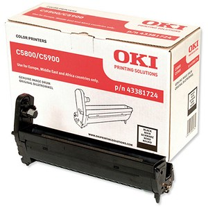 Image of Oki C5900 Black Image Drum