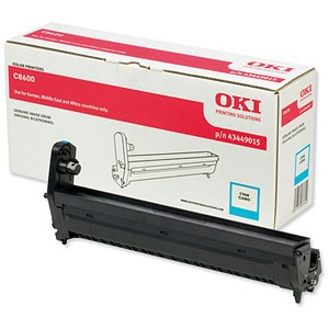 Image of Oki 43449015 Cyan Laser Drum Unit