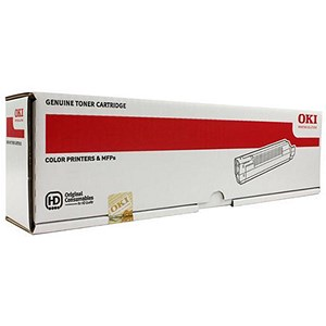 Image of Oki 43487709 Yellow Laser Toner Cartridge