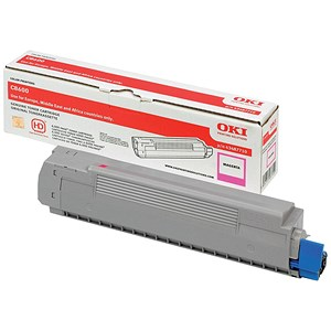 Image of Oki 43487710 Magenta Laser Toner Cartridge