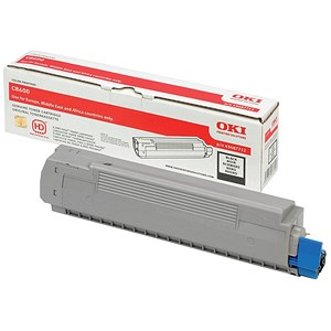 Image of Oki 43487712 Black Laser Toner Cartridge