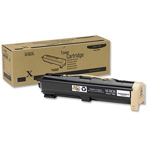 Image of Xerox Phaser 5500 Black Laser Toner Cartridge