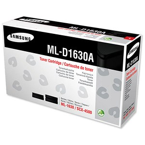 Image of Samsung ML-D1630A Black Fax Toner Cartridge and Drum Unit