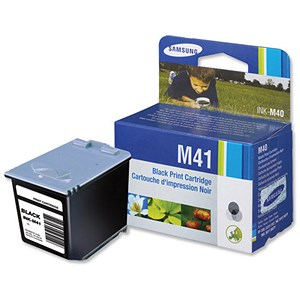 Image of Samsung INK-M41 Black Fax Inkjet Cartridge