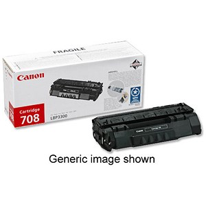 Image of Canon 715H High Yield Black Laser Toner Cartridge