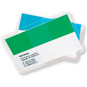 Image of GBC Laminating Pouches / 60x90mm / Pack of 100