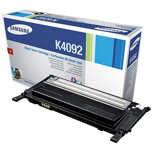Image of Samsung CLT-K4092S Black Laser Toner Cartridge
