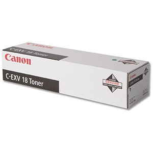 Image of Canon C-EXV18 Copier Toner Cartridge Page Life 8400pp Black Ref 0386B002