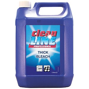 Image of Cleanline Thick Bleach for Drains & Toilets / 5 Litres / Pack of 2