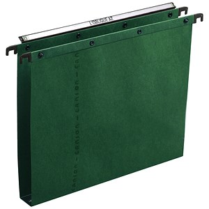 Image of Elba Ultimate A20 Suspension Files / Square Base / 30mm Capacity / Foolscap / Green / Pack of 25