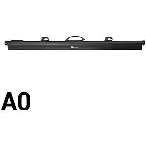 Image of Arnos Hang-A-Plan / QuickFile Front Load Binder / Black / A0