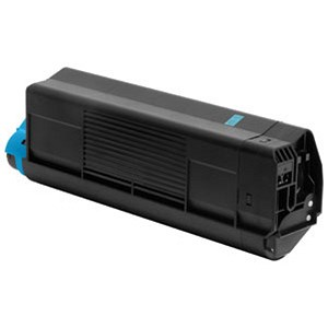 Image of Oki C5400 Cyan Laser Toner Cartridge
