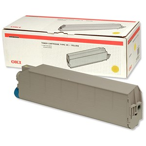 Image of Oki C9500 Yellow Laser Toner Cartridge