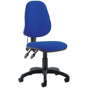 Image of Trexus Lumb-Air High Back Operator Chair - Blue