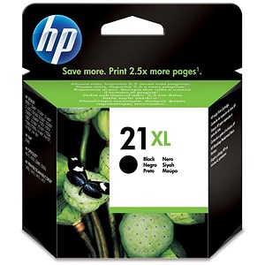 Image of HP 21XL Black Ink Cartridge