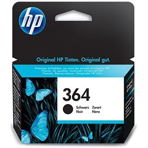Image of HP 364 Black Ink Cartridge