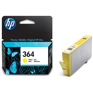 Image of HP 364 Yellow Ink Cartridge