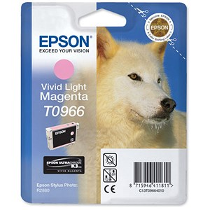 Image of Epson T0966 Light Magenta UltraChrome K3 Inkjet Cartridge