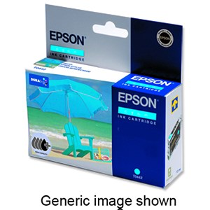 Image of Epson T6172 High Yield Cyan Inkjet Cartridge