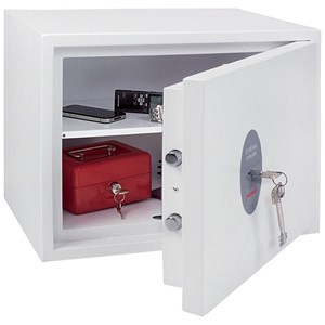 Image of Phoenix Fortress High Security Safe Key Lock 28L Capacity 38kg W450xD350xH350mm Ref SS1182K