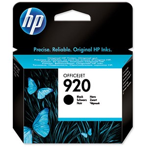 Image of HP 920 Black Ink Cartridge