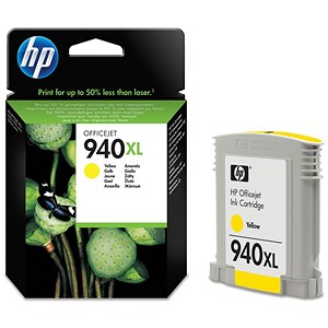 Image of HP 940XL Yellow Ink Cartridge