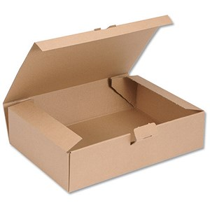 Image of Easi Mailer Kraft Mailing Box / 305x215x80mm / Brown / Pack of 20