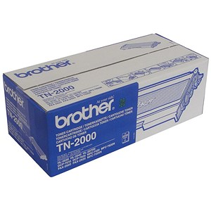 Image of Brother TN2000 Black Laser Toner Cartridge