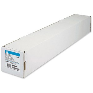 Image of HP Universal Bond Paper Roll / 1067mm x 45.7m / White / 80gsm / 42 inch
