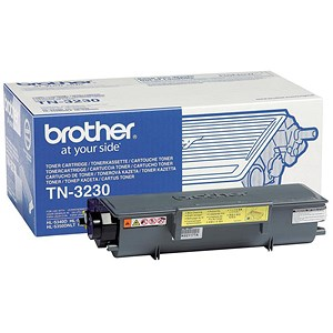 Image of Brother TN3230 Black Laser Toner Cartridge