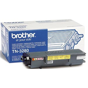 Image of Brother TN3280 High Yield Black Laser Toner Cartridge