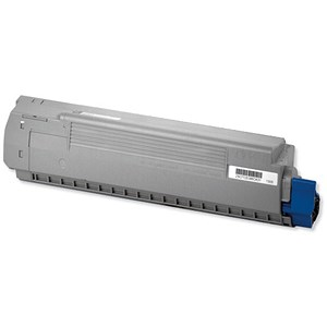 Image of Oki 44059108 Black Laser Toner Cartridge